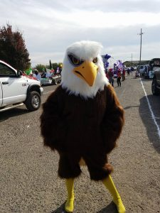 Eagles in the News! Christmas Parade 2017